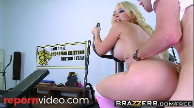 Brazzers - Big Tits In Sports - Kagney Linn Karter and Danny D - Post Match Pussy Part One
