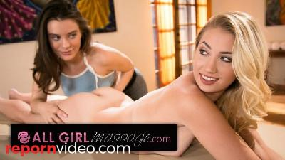 AllGirlMassage Lana Rhoades Seduced and Ass Licked Blonde Amazon